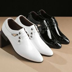 (Ad)eBay - 2019 Hot Mens Shoes Pointy Toe Carved Business Formal Wedding Dress Lace Up W104