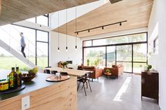STAARC ingenieurs en architecten - house JS - interior - concrete - photo Bram Tack