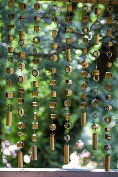 bambou en jardinière, mur décoratif pour le jardin ou la terrasse