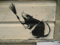 Broom Rat, Banksy