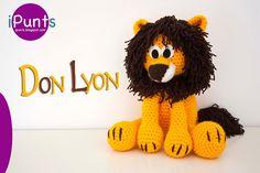 León amigurumi. Patrón gratis en nuestro blog de iPunts. Crochet / | ☂ᙓᖇᗴᔕᗩ ᖇᙓᔕ☂ᙓᘐᘎᓮ http://www.pinterest.com/teretegui