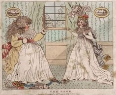 The Rage: Queen Caroline vs Maria Anne Fitzherbert - the fight over George IV - published November 21, 1794 by Newton or O'Keefe