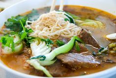 Beef Pho - Houston has some of the best Pho served anywhere in the U.S.