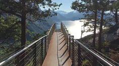 Ein wahrlich beeindruckender Ausblick vom Aussichtspunkt in Åndalsnes, Norwegen