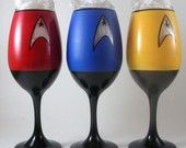 """Nothing says """"pimpin' aint easy"""" like a Star Trek painted crunk cup."""