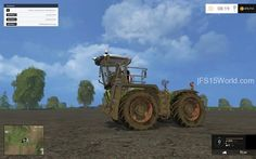 Claas Xerion 3800 - http://fs15world.com/tractors/claas-xerion-3800-mod