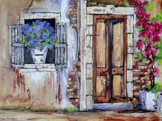 OPEN DOOR (Oil on stretched canvas and can be hung as is: x x in the Paintings category was listed for on 25 Jan at by Louis Pretorius in Cape Town Canvas Paintings For Sale, Oil Painting On Canvas, Canvas Art, City Painting, Oil Painting Flowers, Original Art, Original Paintings, Front Entrances, Architecture Art