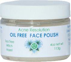 Acne Resolution Face Polish A.K.A Oil Free