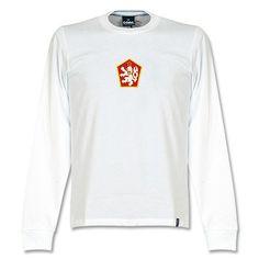 Camiseta Retro de Checoslovaquia 1970 s - Manga Larga Camisas De Futebol 23c17150f4d1b