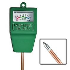 SainSonic SMS01 3in1 Soil Moisture Meter with Plant Light  PH Test Green -- Click image to review more details.