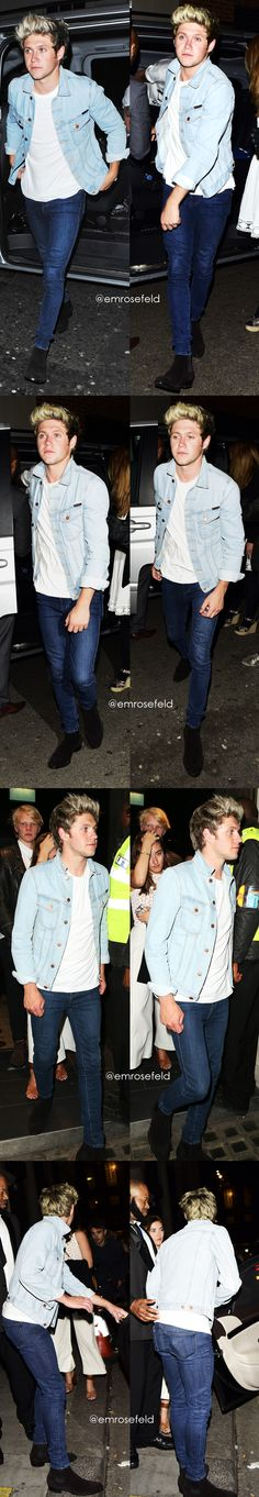 Niall Horan   at Libertine Club in London 6.1.15   @emrosefeld  