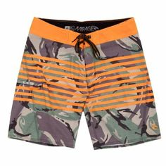 Rip Curl Mirage Freeline Boardshort - Camo/Orange