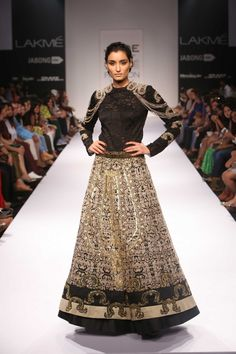 JADE by Monica and Karishma at LFW WF 2014