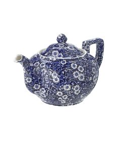 Teapot - Blue and white