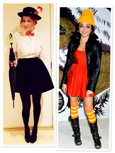 Halloween Costumes...love the Mary Poppin's costume!!