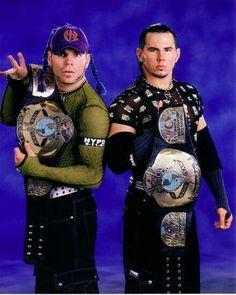 The Hardys WCW World Tag Team Champions