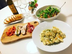 WEBSTA @ aya.t.mm - ともこお手製ディナー#イタリアン #ワイン #ディナー #サロンオーナー #レガーロ #鳥ハム