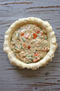 Double Crust Chicken Pot Pie via Joy the Baker