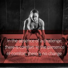 Challenge Equals Change