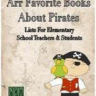 Do you students have an interest in pirates? Are you doing a project and need a list of books? Well here you go!  This list includes pirate themed ...