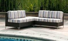 Groupon - Handy Living Napa Newport Outdoor Sectionals; 3-, 4-, and 6-Piece Models Available from $ 999.99–$1,599.99 in Online Deal. Groupon deal price: $999.99