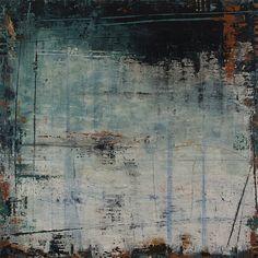 "abstracthinker:  Sleeping on the Beach - Dreamscape Series 35""x35""  Original Artwork: Patricia Oblack  http://patriciaoblack.com http://www.blurb.com/books/196889"