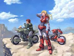 Mospeada/Robotech by の←つ