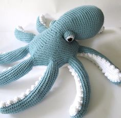 Ravelry: Octavio the Octopus pattern by Adriana Aguirre