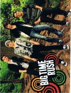 Big Time Rush J-14 Magazine December 2010