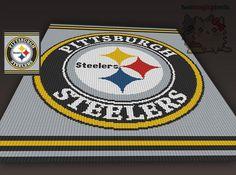 (4) Name: 'Crocheting : Pittsburgh Steelers C2C Graph