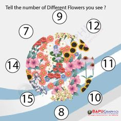 Tell number of Flowers