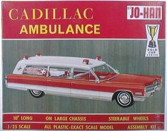 Jo-Han - 1:25 Cadillac ambulance kit