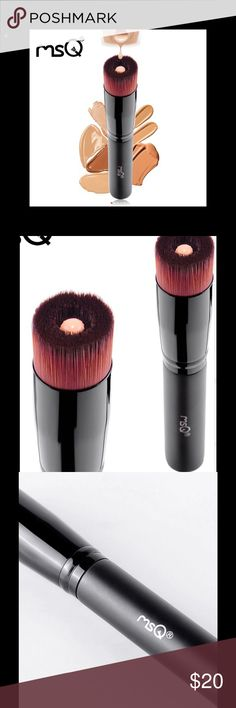 AMAZING LIQUID FOUNDATION BRUSH NEW DESIGN ALLOWS YOU TO PLACE PRODUCT IN THE CENTER AND APPLY FOUNDATION EASILY TO YOUR FACE. BRISTLES ARE SOFT AND VERY GOOD QUALITY. I HAVE THE BRUSH MYSELF AND I LOVE IT. I FIND IT BETTER THAN USING STIPPLER BRUSH(END UP USING TOO MUCH PRODUCT) OR A SPONGE. PLAN TO BE GETTING MORE IN, JUST DONT KNOW WHEN. MSQ Makeup Brushes & Tools