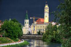 Oradea before storm