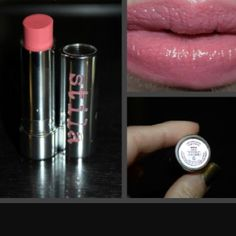 Stila Color Balm Lipstick - Avery It's brand new in the box. Color is Avery (peachy coral). Please check out my listings for additional bundling discounts. Stila Makeup Lipstick