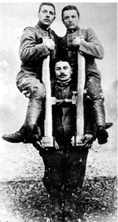Strong Italian soldier WWI