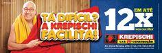 Cliente: Krepischi - Campanha: Tá Difícil ? A Krespischi Facilita!