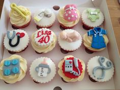 Midwife cupcakes