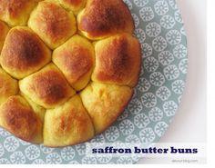 Saffron Butter Buns Recipe on Yummly. @yummly #recipe