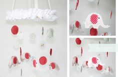Fabric Mobile - create your own stuffed shapes