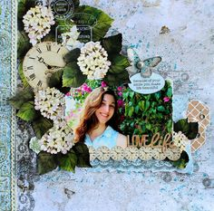 Love Life by Cathy Cafun. Scrapbook Pages, Scrapbook Layouts, Scrapbooking Ideas, Sketches Tutorial, Embossed Paper, General Crafts, Embossing Folder, Craft Items, Creative Inspiration