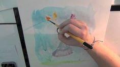 Meg Hawkins Illustrations - YouTube Speed Paint, Watercolour, Illustrations, Videos, Youtube, Painting, Pen And Wash, Watercolor Painting, Watercolor