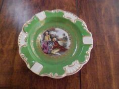 Colonial Style Ashtray Andrea Sadek Occupied Japan by MermaidMemoirs on Etsy