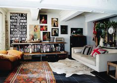 House Tour : At home with Ashley and Stefano