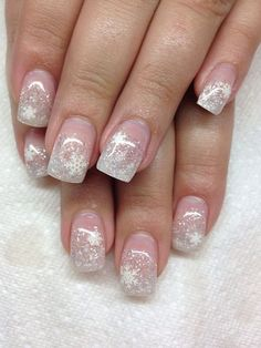 Winter Wonderland Gel Nails