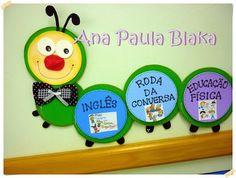 coisas da Ana Paula: Painel para rotina de sala de aula e dicas de rotina