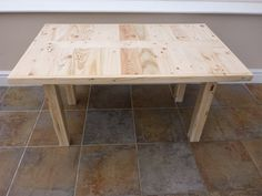 Inlaid Pattern Design Coffee Table 100% by GetOnYourUpCycle