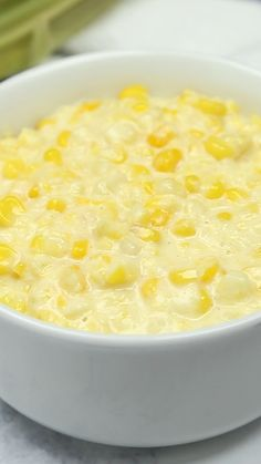 Slow Cooker Creamed Fresh Corn is super easy and creamy! Slow Cooker Creamed Fresh Corn - I've been told this is the best creamed corn recipe around! Simple to make using fresh corn. Creamed Corn Recipes, Vegetable Recipes, Fresh Corn Recipes, Summer Recipes, Slow Cooker Recipes, Crockpot Recipes, Cooking Recipes, Grilling Recipes, Healthy Recipes