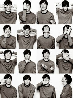Cillian Murphy in various poses