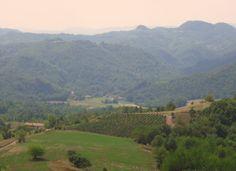 Uitzicht vanaf de kerk van Ponzone